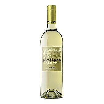 Etcétera Vino blanco verdejo con denominación de origen Rueda Botella de 75 cl