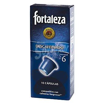 Fortaleza Café descafeinado 100% arabica 10 ud