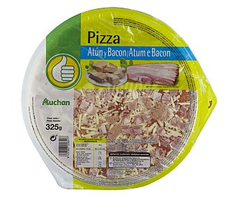 DESPUBLICADAS POR ADMIN Pizza fresca de atún y bacón producto económico alcampo 325 gramos 325 gramos
