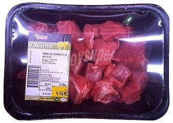 SIETE ISLAS Ternera novillo para componer fresco (carne de novillo) Bandeja 1 kg