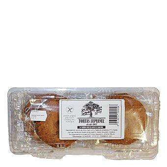 Lupianez Torta de Algarrobo Pack de 6 unidades de 75 g