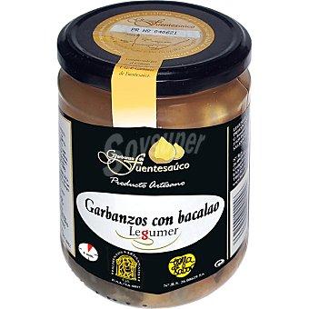 Legumer Garbanzos de Fuentesaúco con bacalao frasco 425 g frasco 425 g