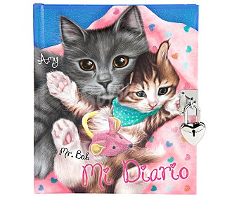 Top model Cuaderno de colorear y bocetos Diario gatos, VV.AA. Género: actividades, infantil. Editorial Depesche. Descuento ya incluido en PVP. PVP anterior: