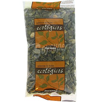Darama Pipas de calabaza crudas peladas ecológicas Bolsa 200 g