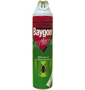 Baygon Insecticida desinf. cucaracha+hormiga 600 ml