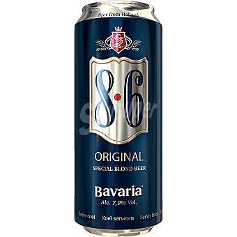 BAVARIA 8.6 Cerveza rubia especial de Holanda lata 50 cl Lata 50 cl