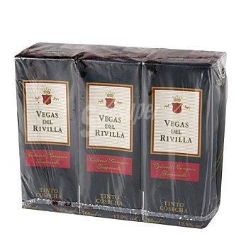Vegas del Rivilla Vino tinto de mesa Pack 3x20 cl
