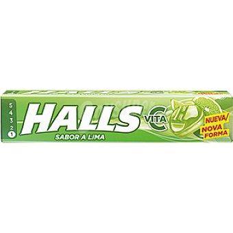 Halls Caramelos Vitamina C lima Lc Paquete 34 g