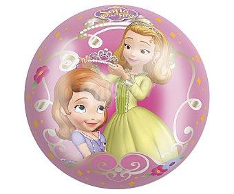 Disney Pelota de 23 centímetros decorada motivos de la princesa Sofía 1 unidad