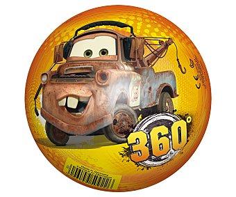Disney Pelota de 14 centímetros decorada con los personajes de la película Cars 1 unidad