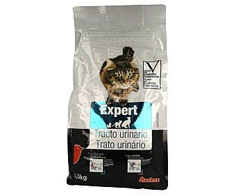 Producto Alcampo Pienso para gatos completo que ayuda al control tracto urinario auchan expert 1.5 kg