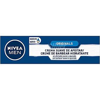 Nivea For Men Crema de afeitar suave piel normal y seca Tubo 100 ml