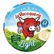 Queso light fundido Caja 125 gr (8 porciones) La Vaca que ríe