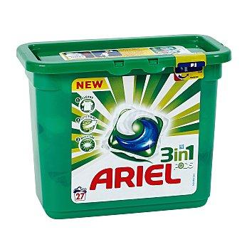 Ariel Detergente 3 en 1 en cápsulas 27 ud