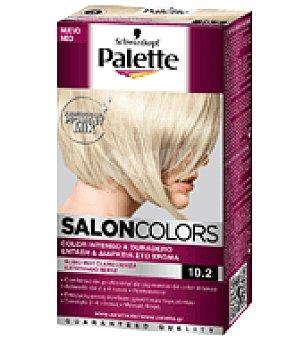 Palette Tinte Salón Colors 10,2 Rubio muy Claro Ceniza 1 ud