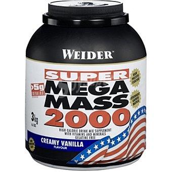 WEIDER Super Mega Mass 2000 Hidratos de carbono sabor vainilla Bote 3 kg