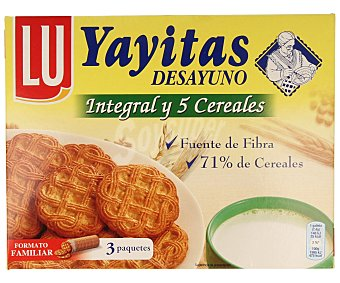 Yayitas Lu Yayita con chocolate 5 cereales Caja 600 g