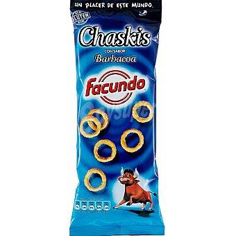 Chaskis Facundo Chaskis con sabor barbacoa  Bolsa 100 g