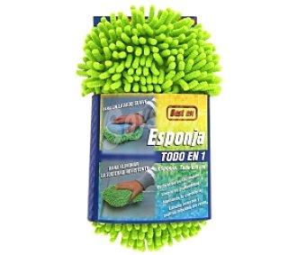 ROLMOVIL Esponja especial para lavado y abrillantado del automóvil, de microfibra 1 unidad