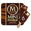 Caramel y Chocolate helado 6x60ml MAGNUM Double