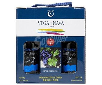 Vega de Nava Vino tinto de crianza con denominación de origen Ribera del Duero Pack 6 x 18.7 cl