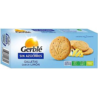 Gerblé Galletas sabor limón sin azúcares Envase 132 g