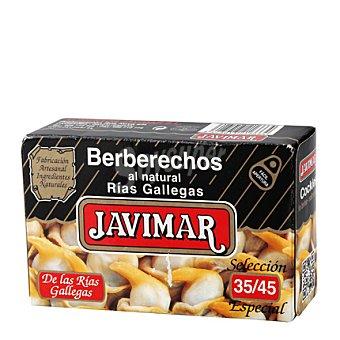 Javimar Berberechos natural 35/45 piezas 65 g