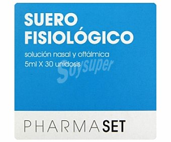 Pharmaset Solución nasal y oftálmica, 30 Unid