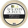 Queso curado de oveja al tartufo de pasta mantecosa suave elaborado con leche cruda maduración mínima de 4-6 meses 100 gramos La Antigua