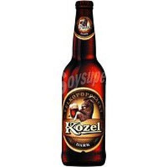 KOZEL Cerveza negra checa Botellín 50 cl