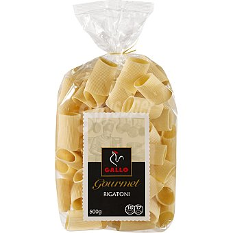 Gallo Macarrón rigatoni gourmet Envase 500 g