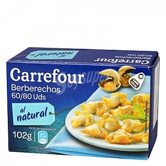Carrefour Berberechos al natural 58 G 58 g