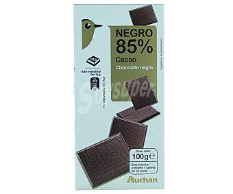 Auchan Chocolate negro 85% de cacao 100 gramos