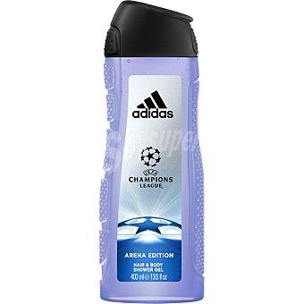 Adidas gel de baño UEFA Champions League Arena Edition frasco 400 ml
