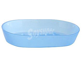 Productos Económicos Alcampo Jabonera para baño de color azul 1 Unidad