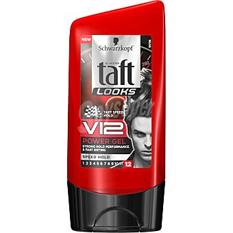 Taft gel Looks V12 rápida acción  tubo 150 ml
