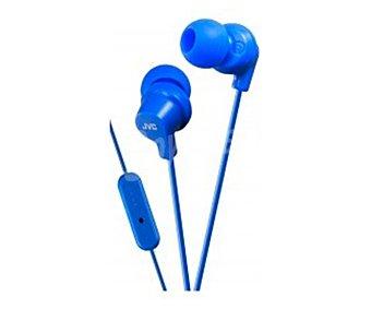 JVC HA-FR15-A-E Auricular intrauditivo, con micrófono, color azul
