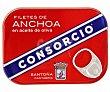 Filetes de anchoa en aceite de oliva 50 g Consorcio