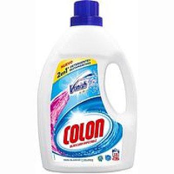 Colón Detergente gel vanish 2 en 1 para ropa blanca Garrafa 36 dosis