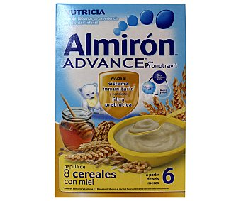 Almirón Nutricia Papilla de 8 cereales con miel Advance 600 g