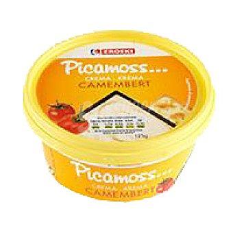 Eroski Crema de queso Camembert Tarrina 125 g