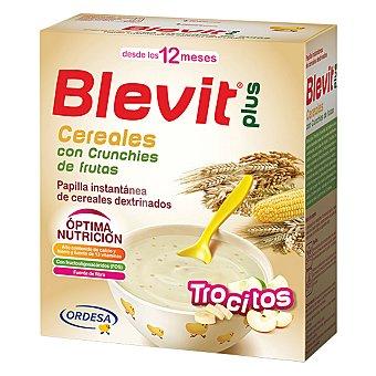 Blevit Papilla instantánea de cereales con trocitos de fruta crujiente a partir de 12 meses 600 gramos