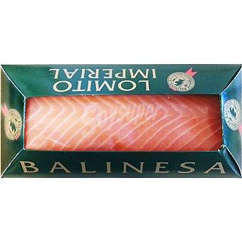LA BALINESA Salmón ahumado lomo imperial peso aproximado Estuche 250 g