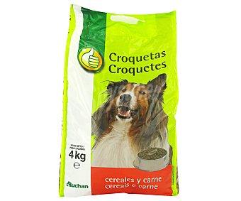 Productos Económicos Alcampo Comida Seca para Perro: Croquetas Bolsa 4 Kilogramos