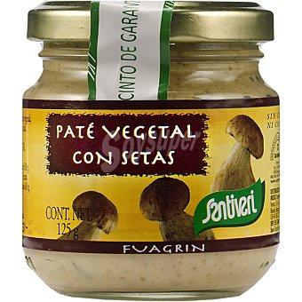 SANTIVERI Fuagrín Paté vegetal con setas Envase 125 g