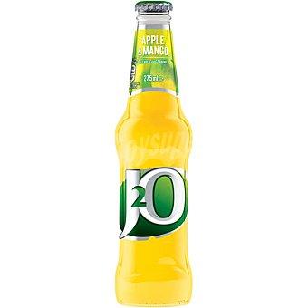 J2O Refresco de manzana y mango sin gas  botella 27,50 cl