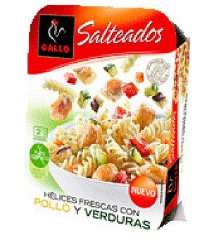 Gallo Gallo Salteado Hélices con Pollo y Verduras 275 g