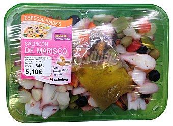 Caladero Salpicón marisco fresco Bandeja 450 gramos peso aprox.