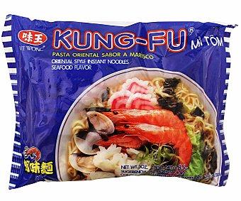 Kung-fu Fideos sabor a gamba Paquete de 85 g