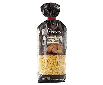 Auchan Fideos huecos (fideuá), pasta de sémola de trigo duro de calidad superior al huevo 250 gramos